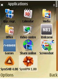 Symbian etapa 2